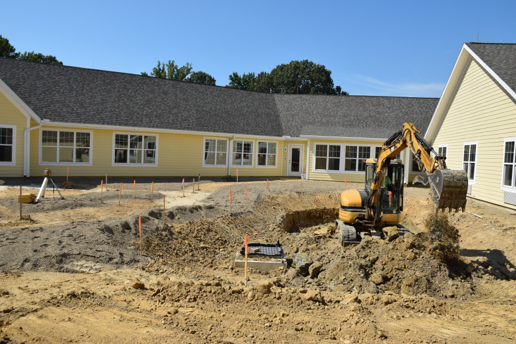 site work stormwater management Candlelight Cove in Easton, MD