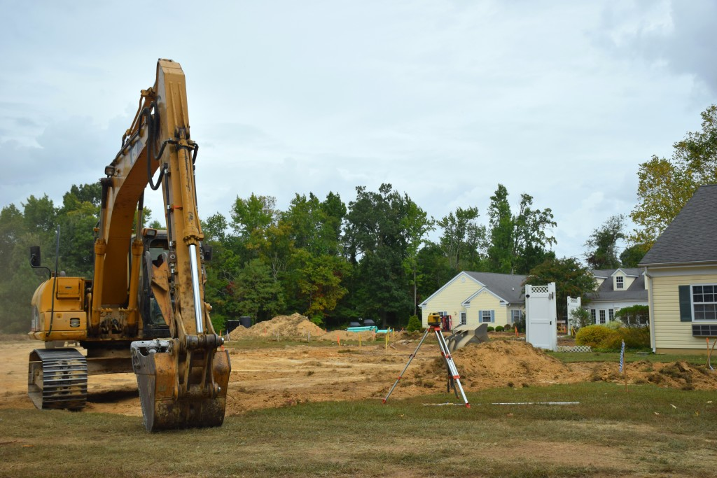 site work Candlelight Cove in Easton, MD