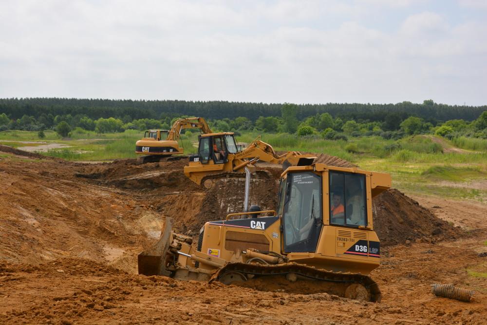 The Landing MX Park Construction