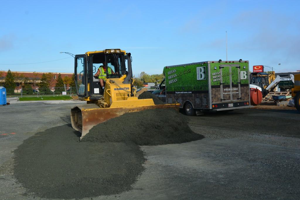 site work Aldi's in Easton, MD